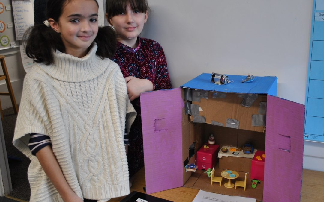 Electric Houses in Grade 4